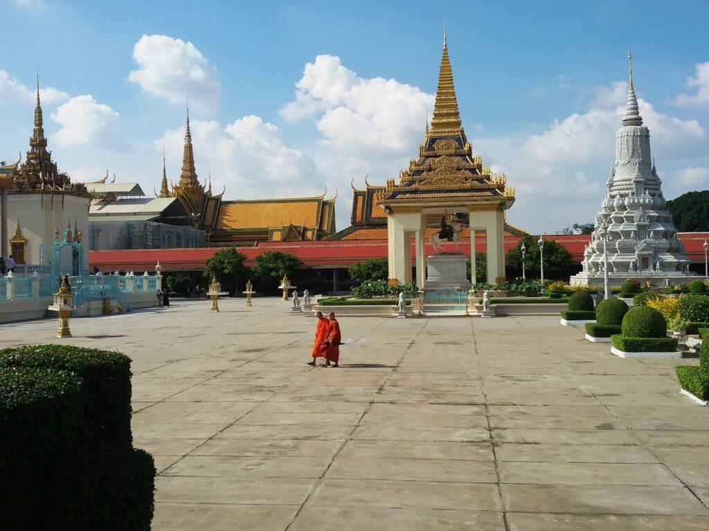 The Royal Palace of Phnom Penh