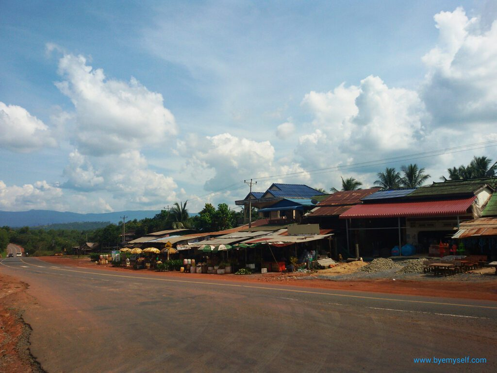 On the road to Sihanoukville