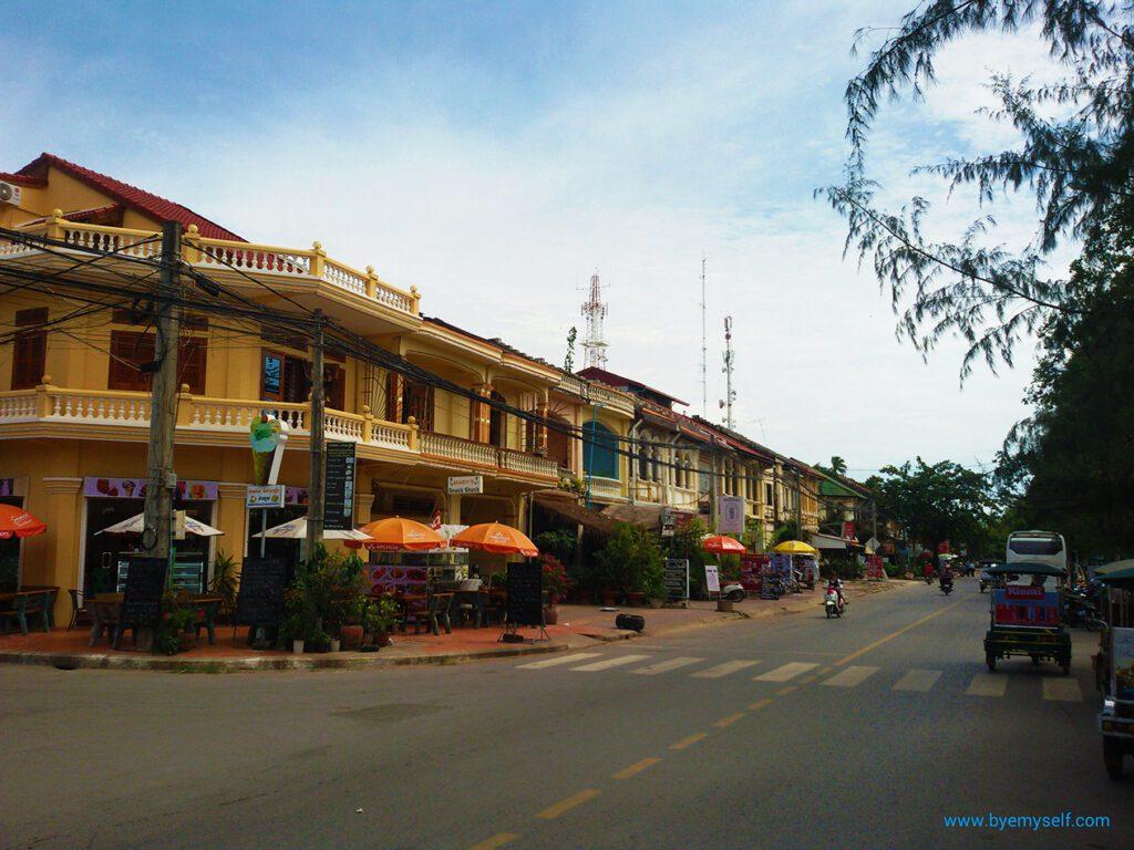 Street in Kampot
