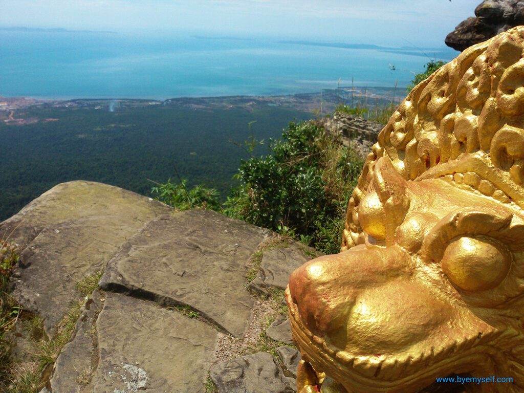 View from the Thansur Bokor
