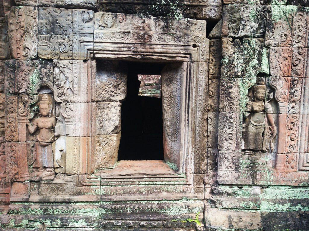 Preah Khan in Angkor Wat