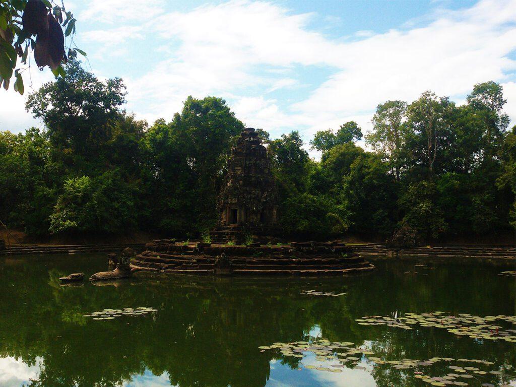 Island temple of Neak Pean