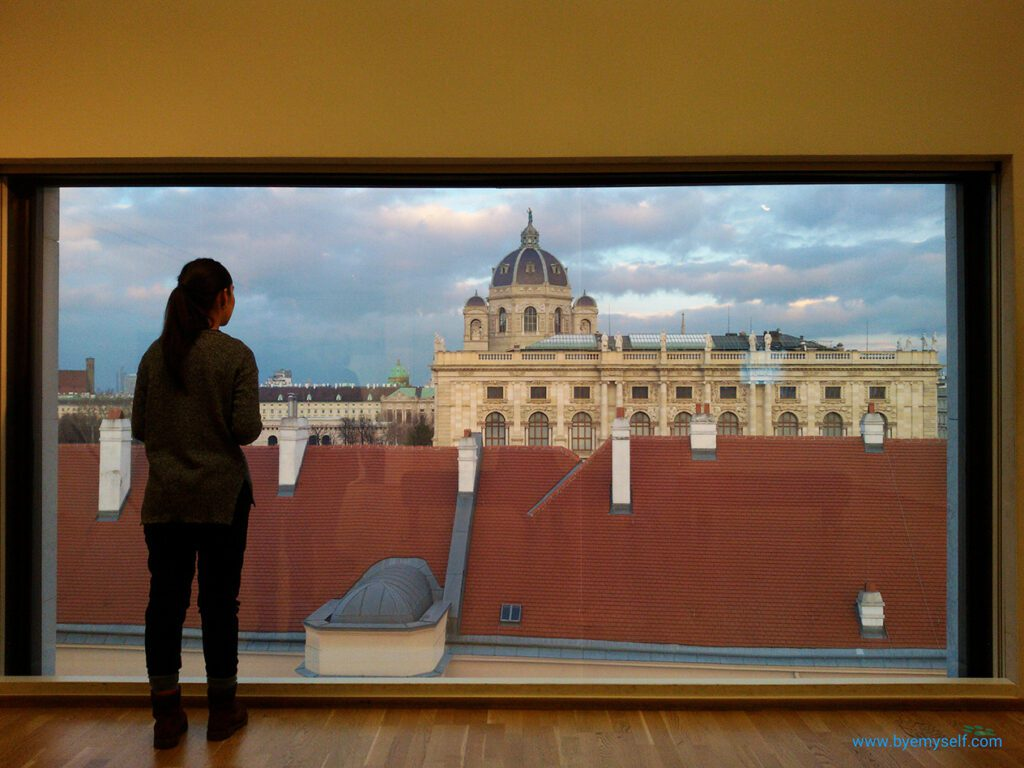 View of Vienna from the Museum Leopold