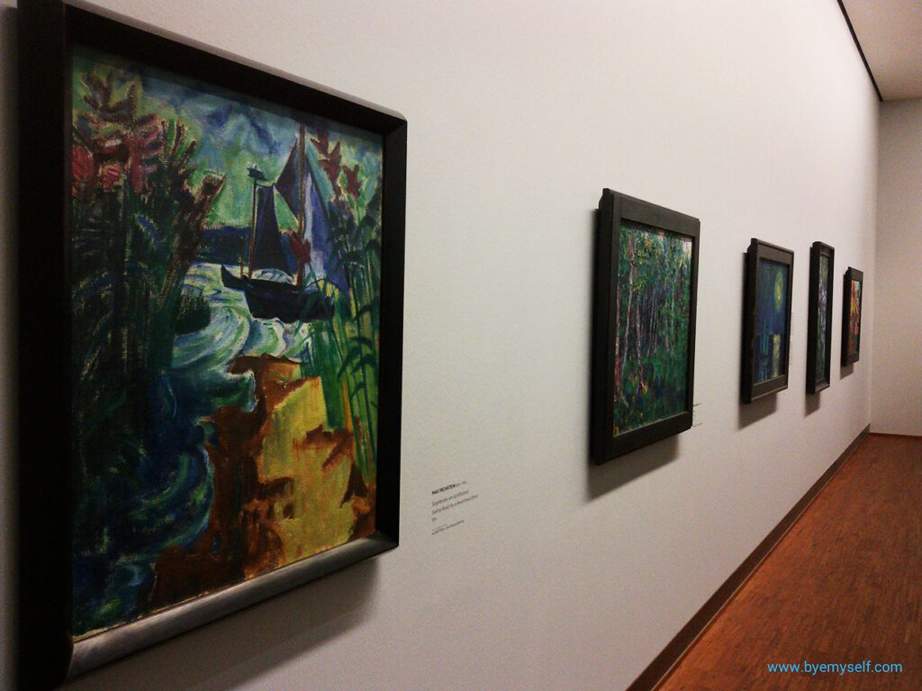 German expressionist from the rich Batliner collection at the Albertina Gallery in Vienna