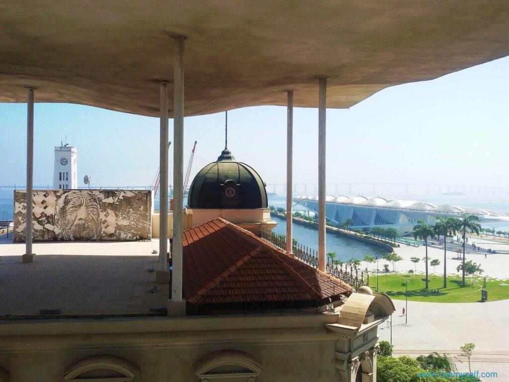 View from the Museu de Arte do Rio.