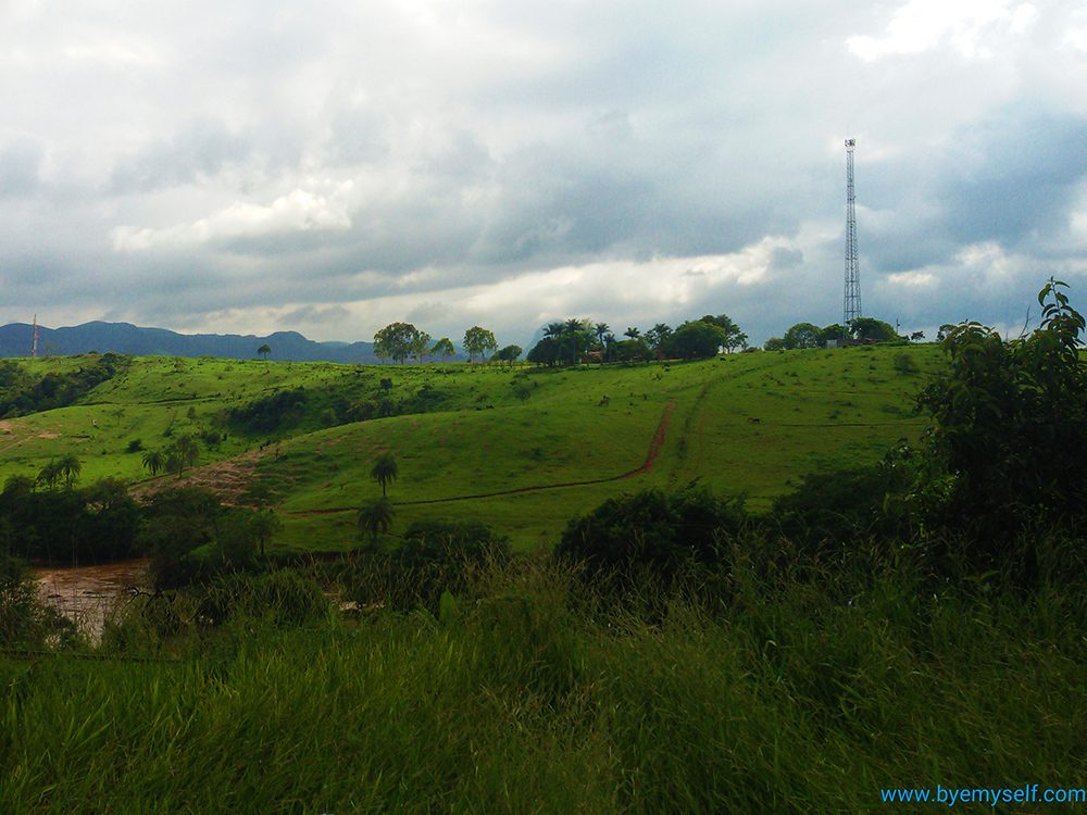 View of Brumadinho's surroundings