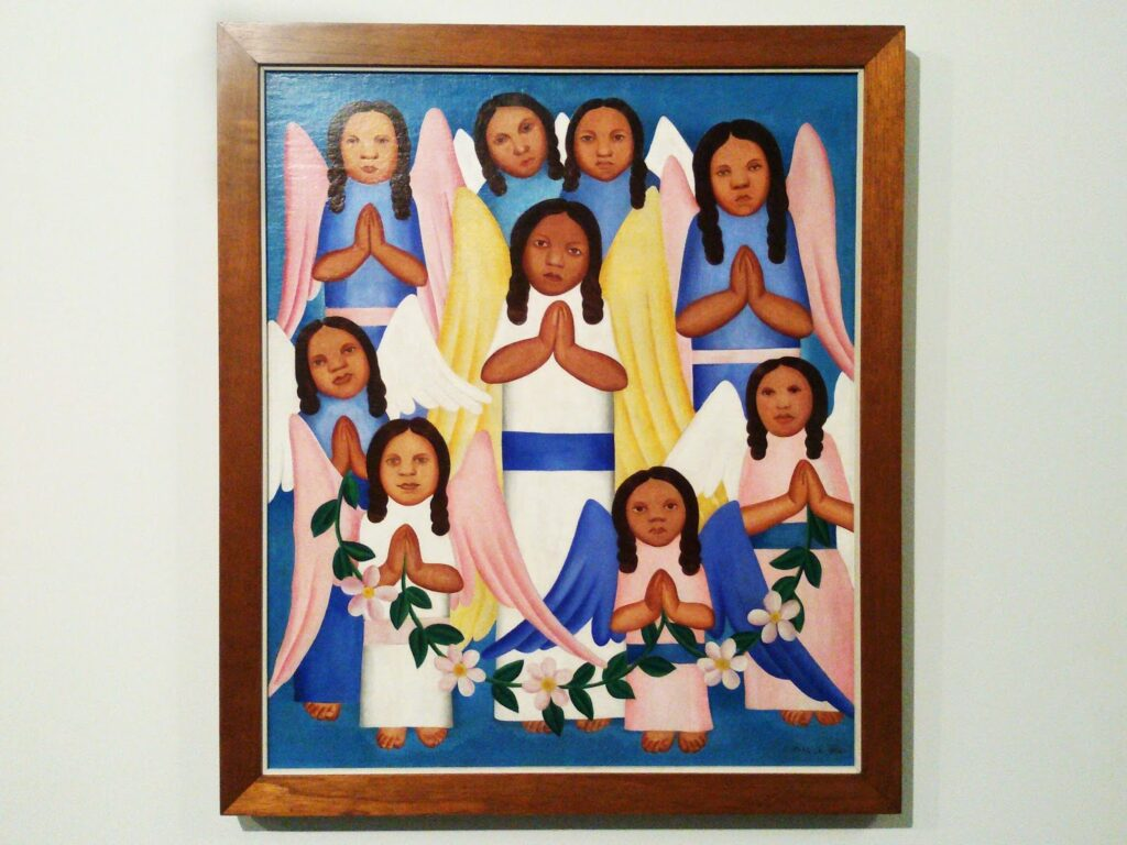 Painting by Tarsila do Amaral at the MAM in Rio de Janeiro