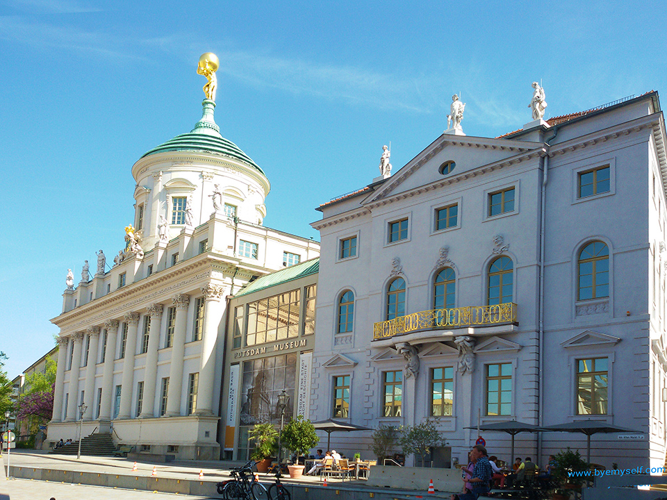 The Potsdam Museum and the Knobelsdorff Hause commissioned by Frederick the Great
