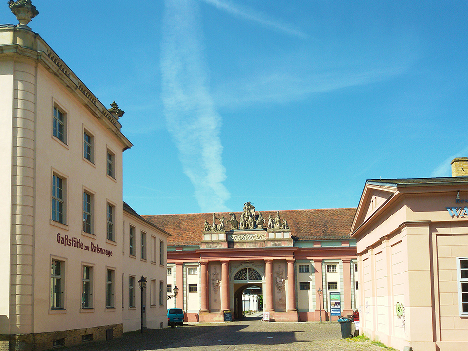 Neuer Markt in Potsdam, the great small town, introduced in this guide