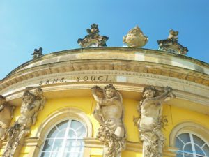 Sanssouci palace in Potsdam, the great small town, introduced in this guide