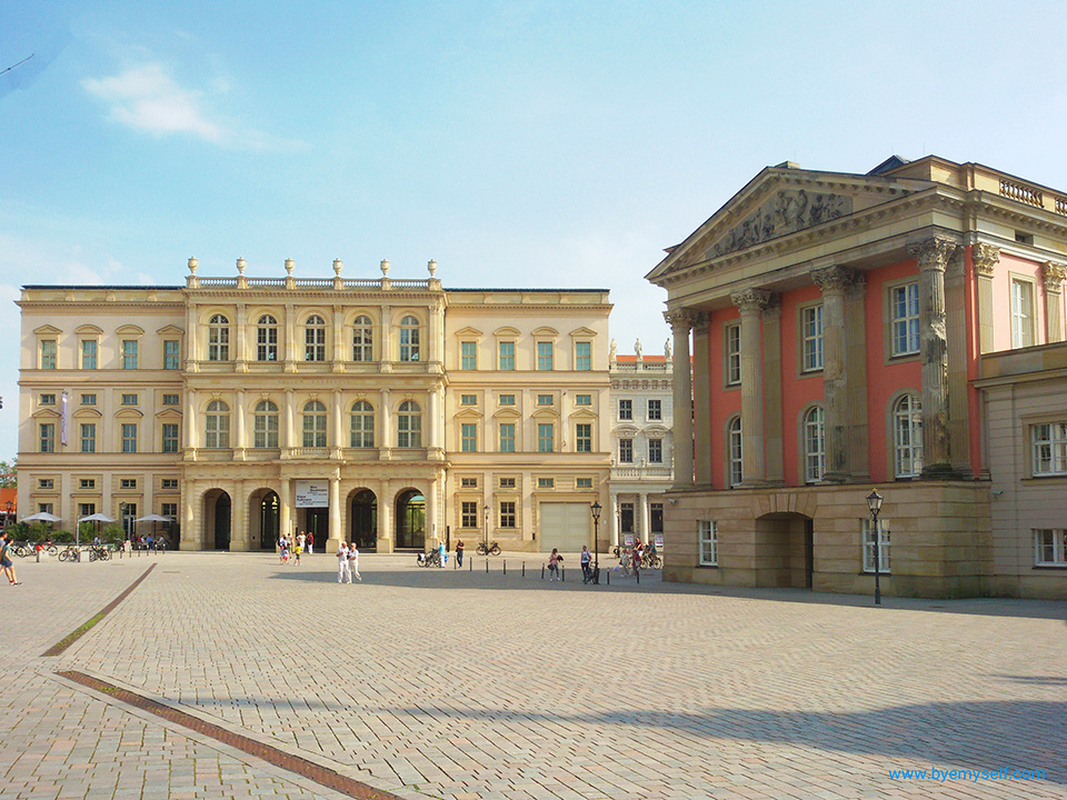 Barberini Palace in Potsdam, the great small town, introduced in this guide