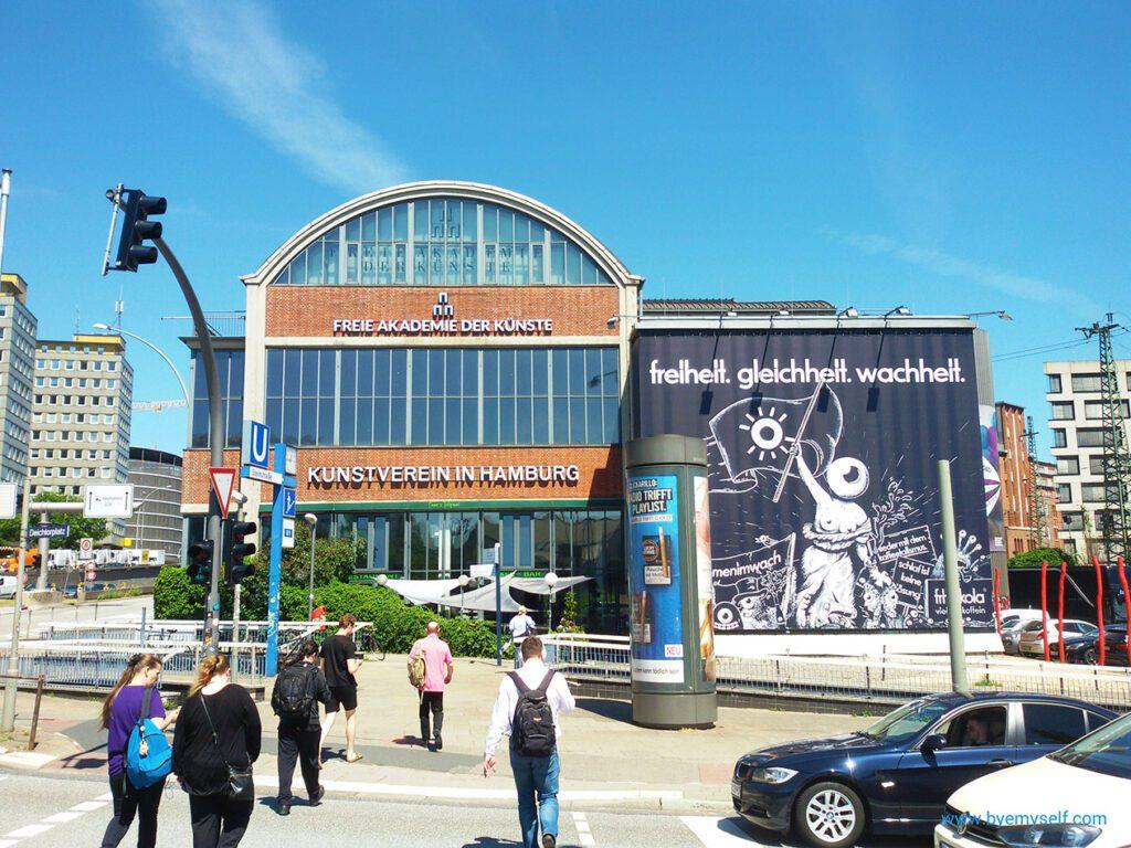 Hamburg's art society