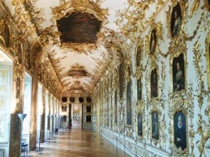 Ancestor Gallery at the Residenz in Munich, Germany