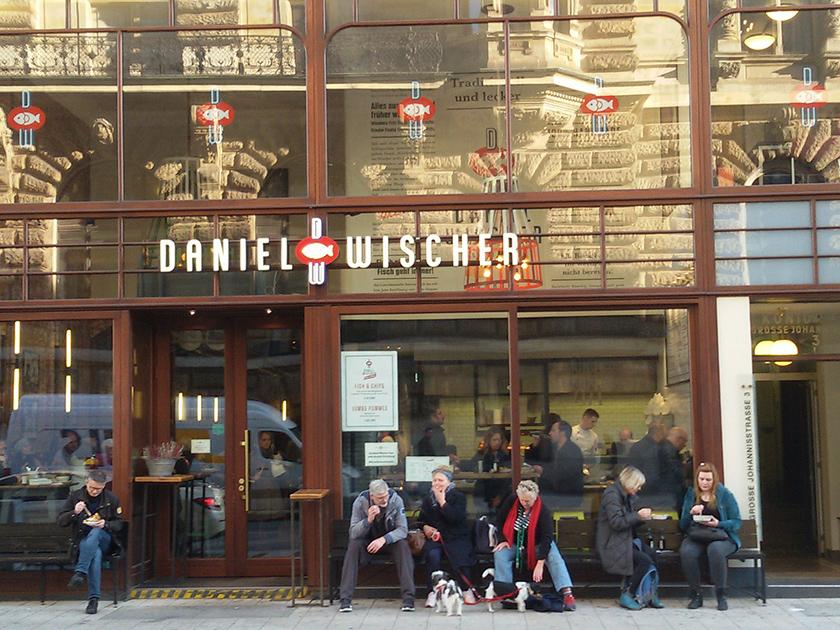 Daniel Wischer Restaurant and Store in Hamburg