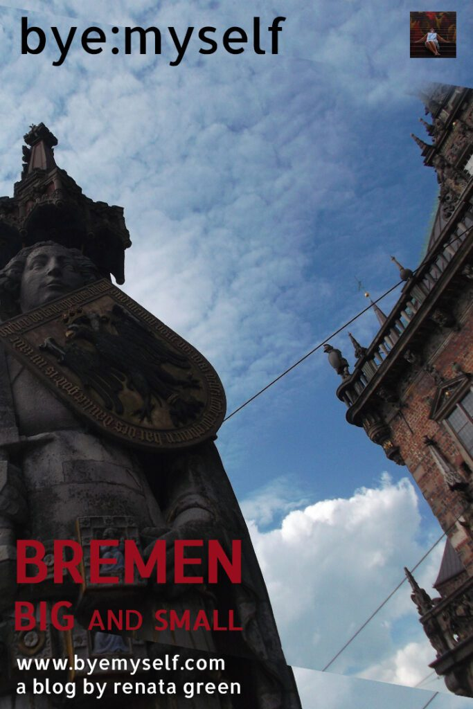 Pinnable Picture for the post onBREMEN - BIG and small. A complete city guide.