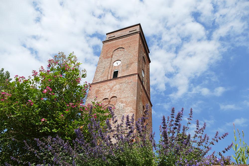 The old lighthouse of Borkum.