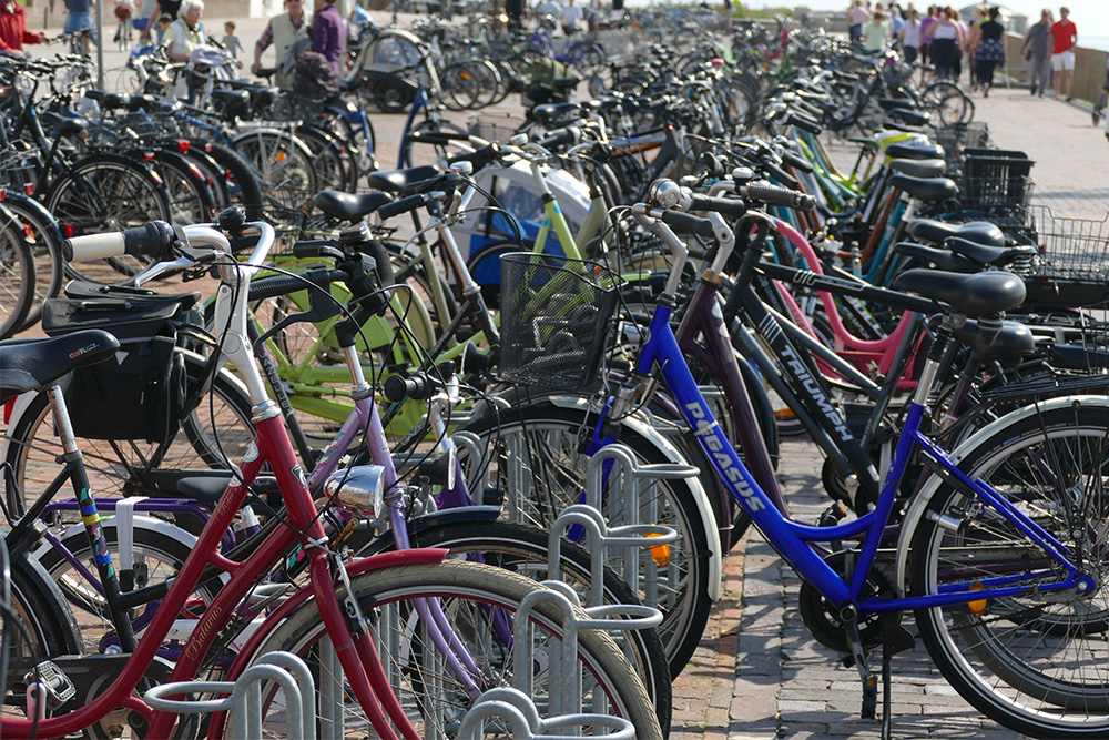 Bicycles on Borkum