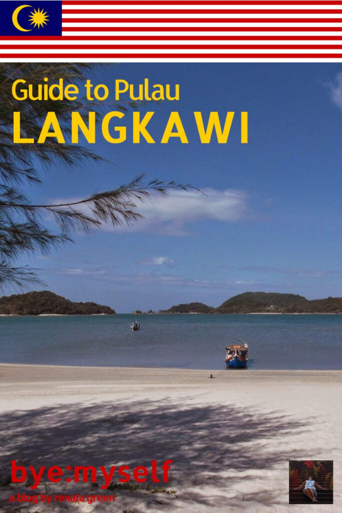 Pinnable Picture for the post on Guide to PULAU LANGKAWI - More Than Just a Beach