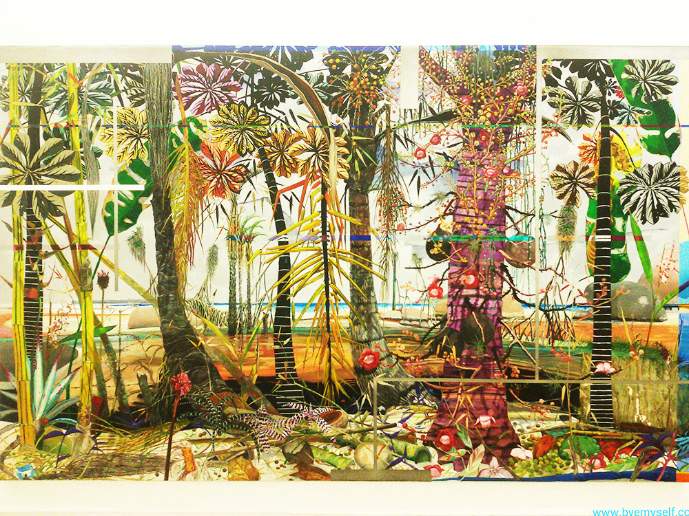 Luiz Zerbini's HIgh Definition at INHOTIM Botanic Garden and Gallery.