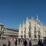 View of the Duomo in Milan