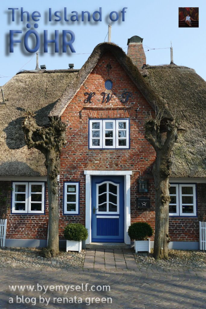 Pinnable Picture for the post on Guide to the Island of FOEHR - every village a home
