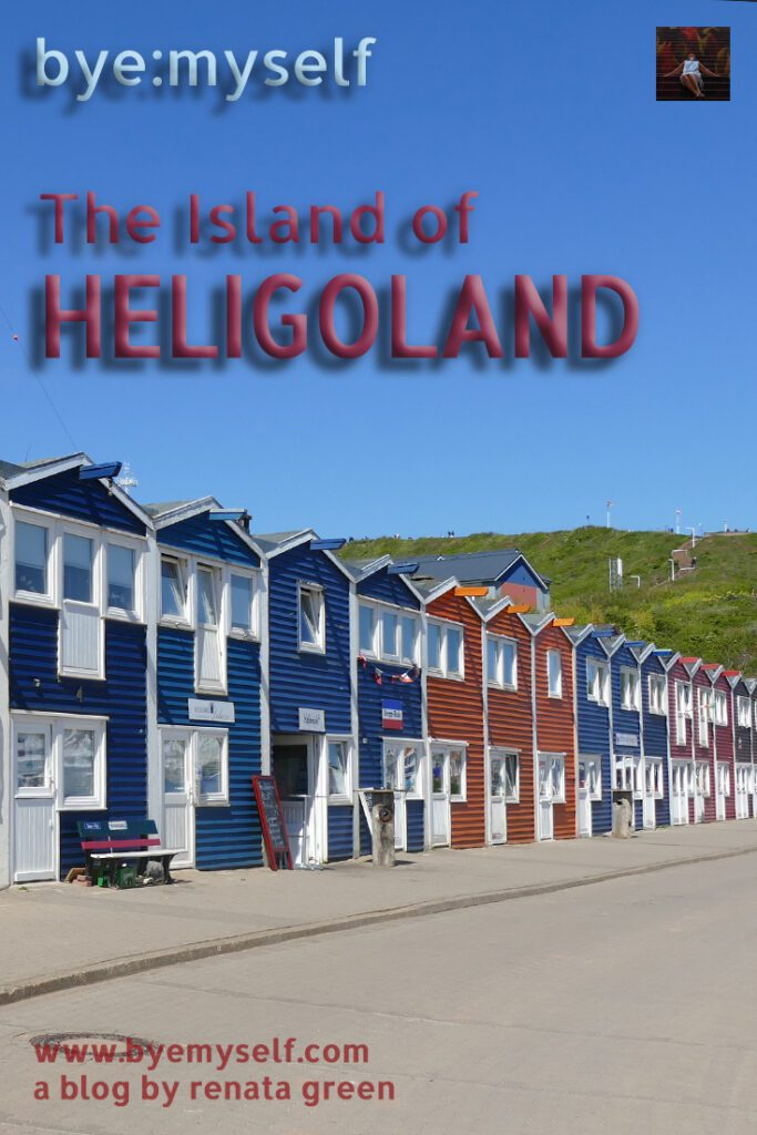 Pinnable Picture for the post on The Island of HELIGOLAND - soft spot with rough edges