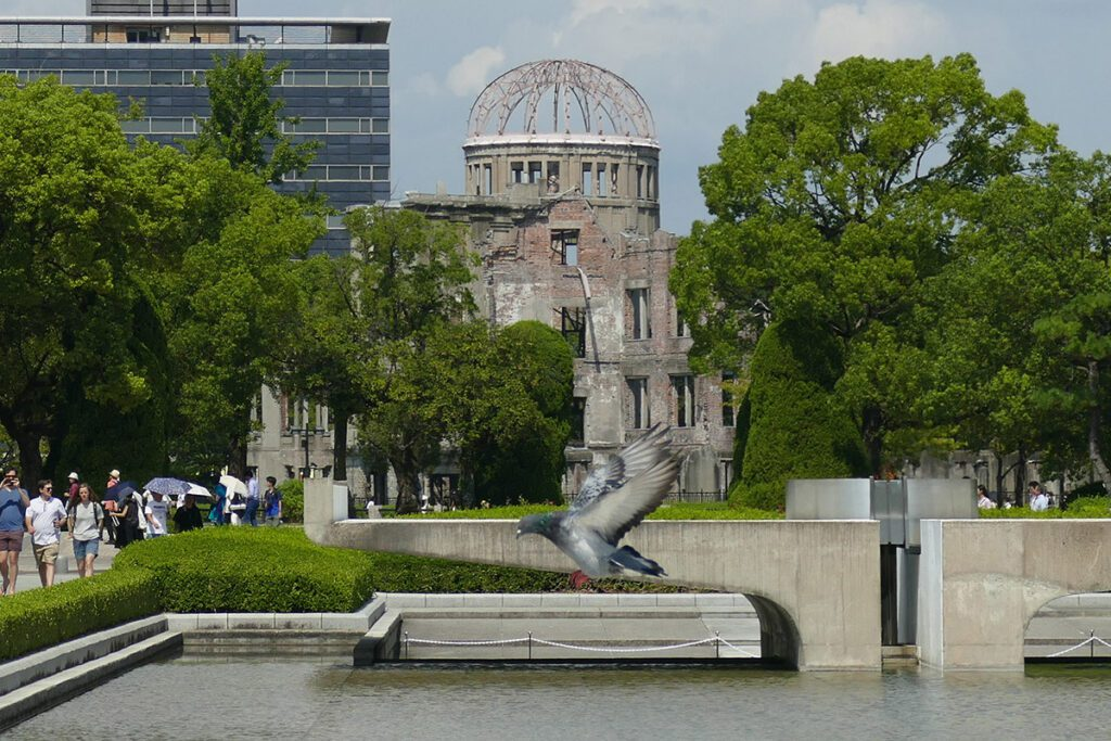 Atomic Dome in Hiroshima, a city HIROSHIMA - risen up from the ashes; and a side trip to MIYAJIMA