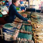 Selling Fish on the Market in Kep, Cambodia