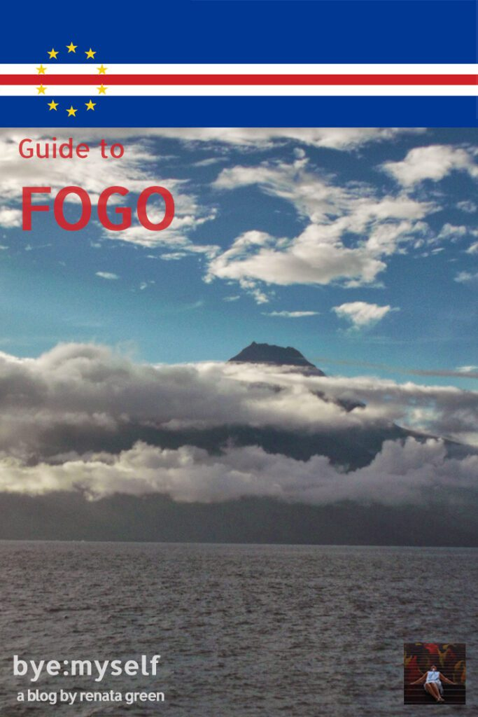Pinnable Picture for the post on Guide to FOGO, Cape Verde's most varied island