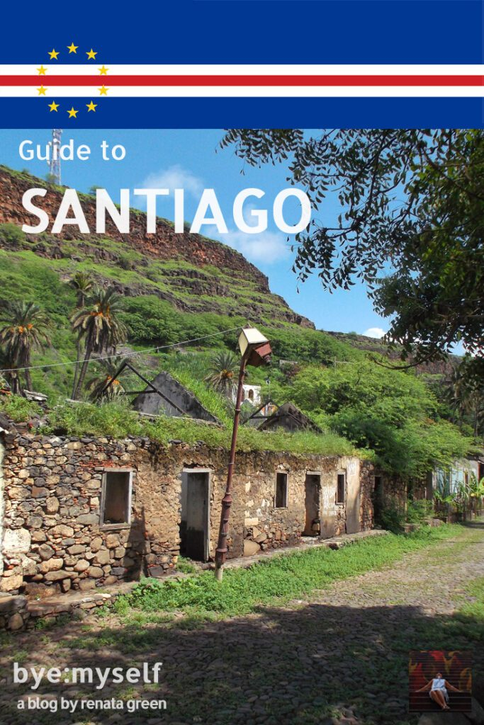 Pinnable Picture for the post on Guide to SANTIAGO - Cape Verde's main island