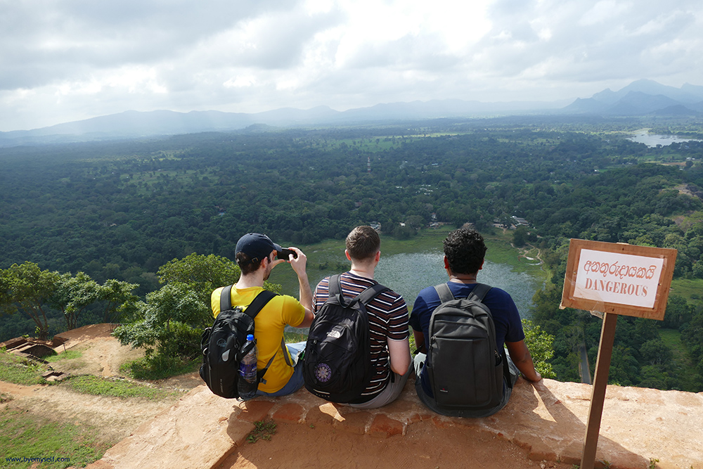 Lion Rock in Sigiriya