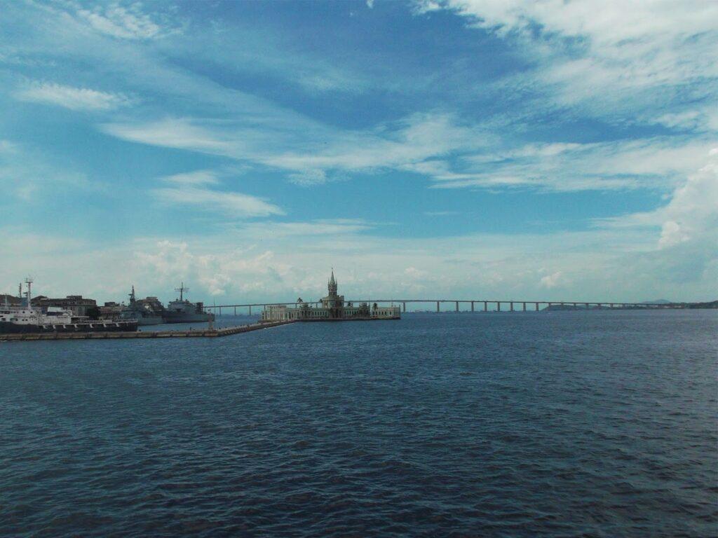 The Ilha Fiscal off the shore of Rio de Janeiro.