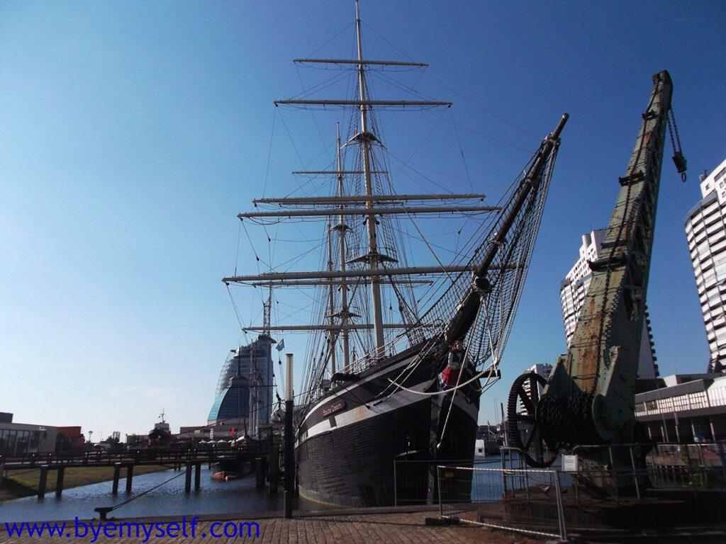 Old Ships at Bremerhaven