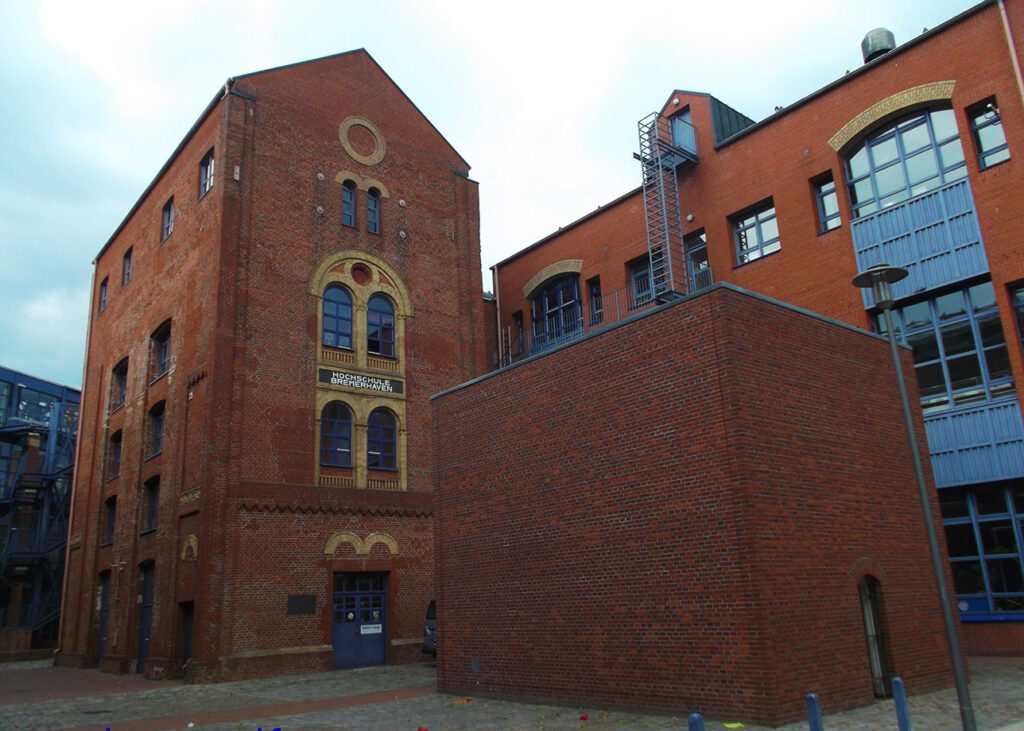 The former Auswandererhaus in Bremerhaven, Germany from where people were coming to America
