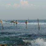 Stil fisher around Mirissa in Sri Lanka