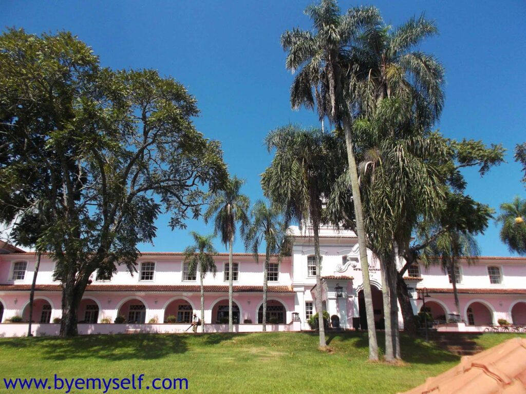 The Belmond Hotel at Foz do Iguacu, right next to the Waterfalls
