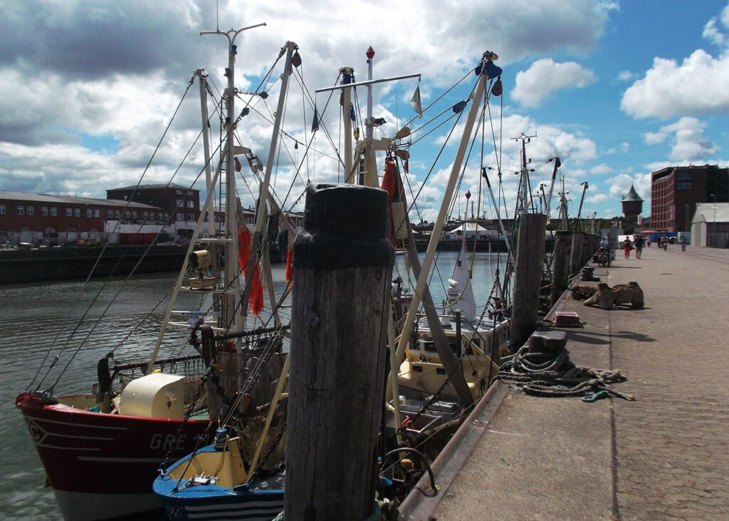 Fishing harbor Cuxhaven