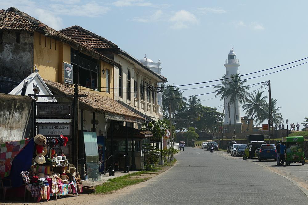 Street in Galle Fort, Sri Lanka