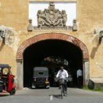 The Old Gate of Galle Fort Sri Lanka