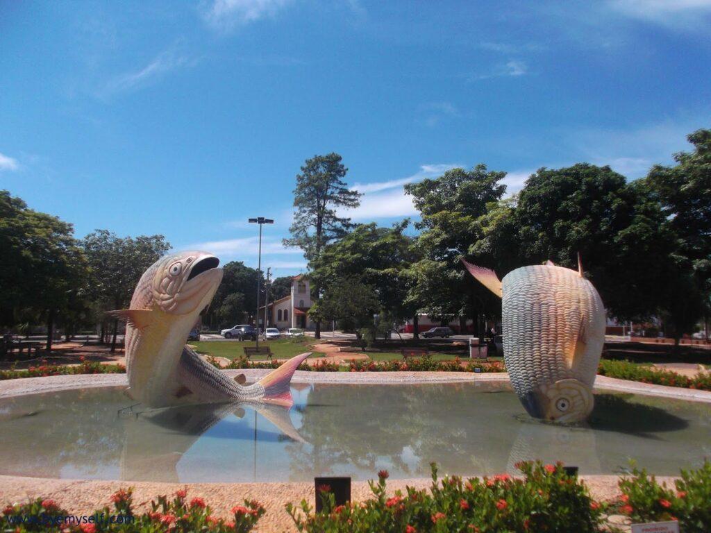 Praça da Liberdade in Bonito
