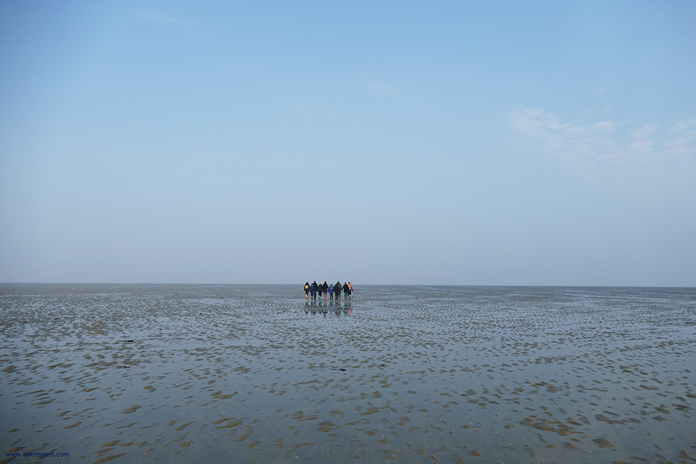 This mudflat off the island of Foehr