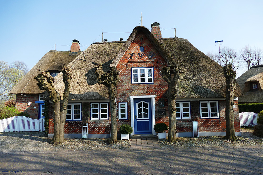Thatched house on Föhr