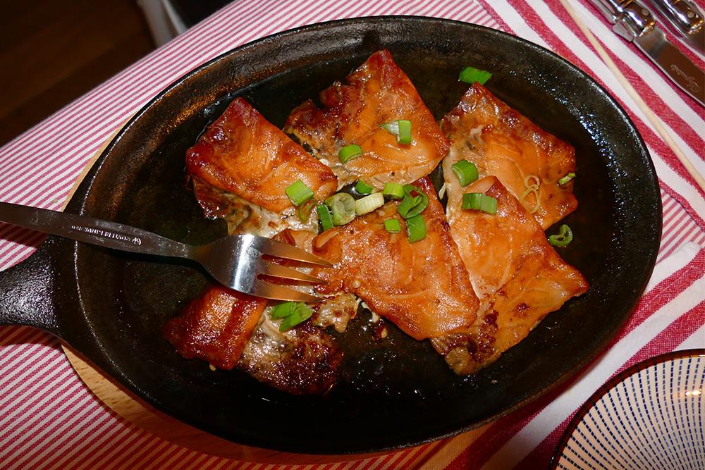 Frisian tapas: Yes, the baked salmon