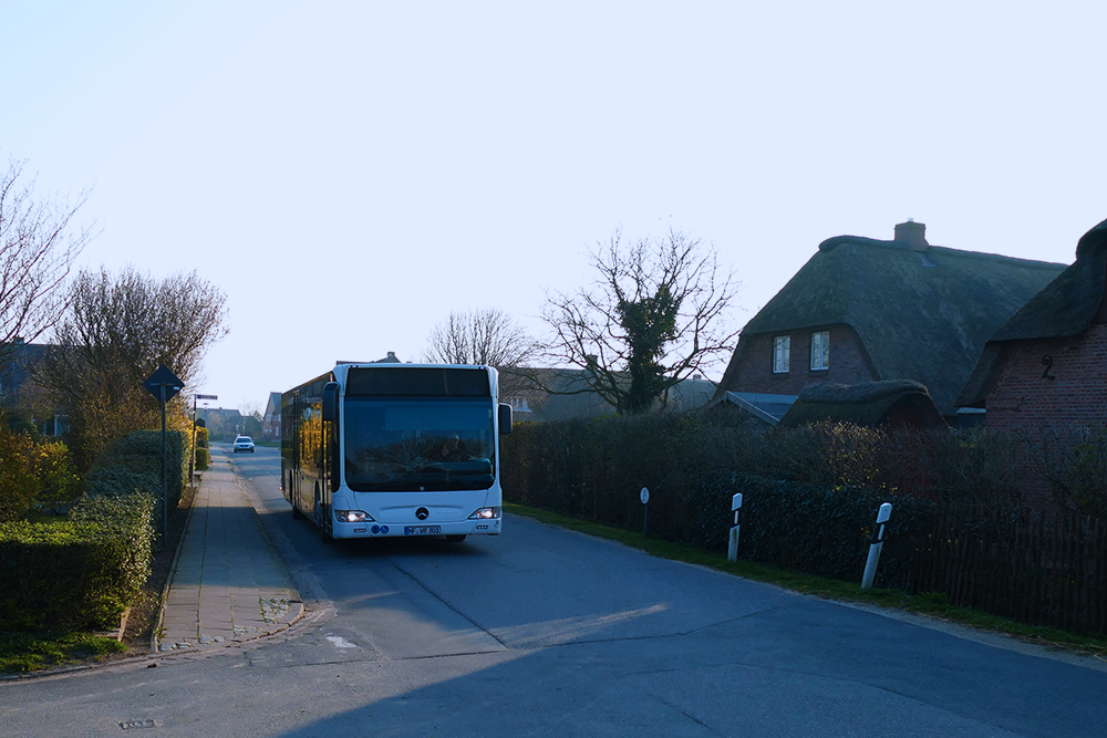 Bus on Foehr
