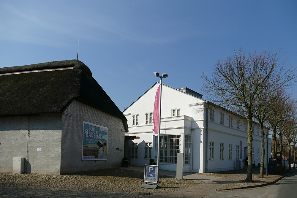 The Museum Kunst der Westküste, the Museum Art of the West Coast on the island of Foehr, seen from the outside.