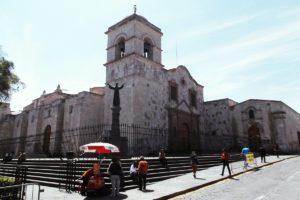 Iglesia de San Francisco in Arequipa, Peru
