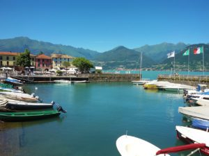 View of Colico in the northern part of Lake Como - a lake to like