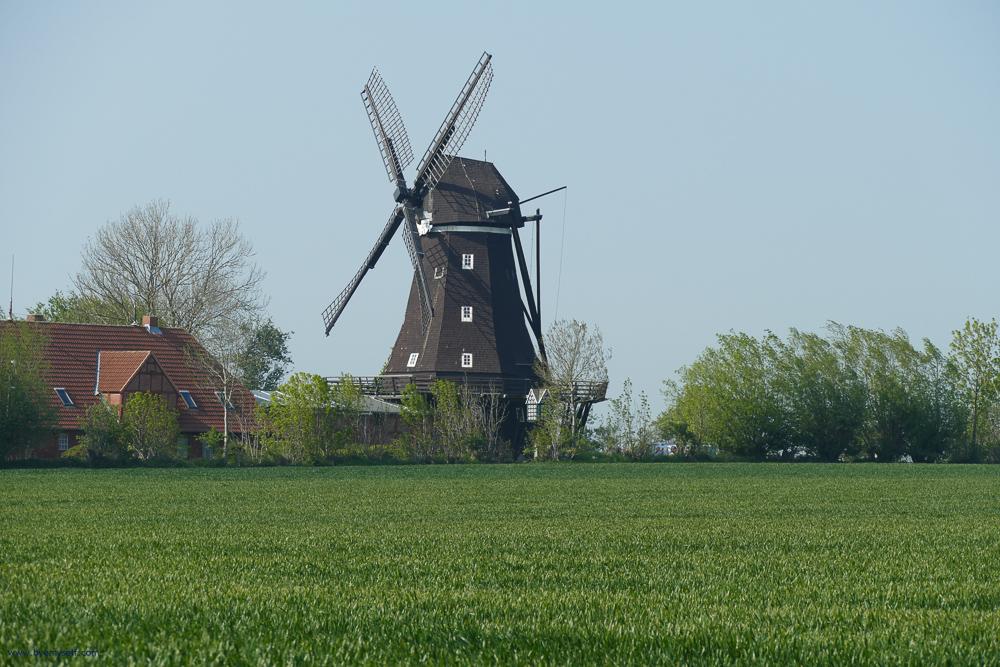 Mill at Lemkenhafen on Fehmarn