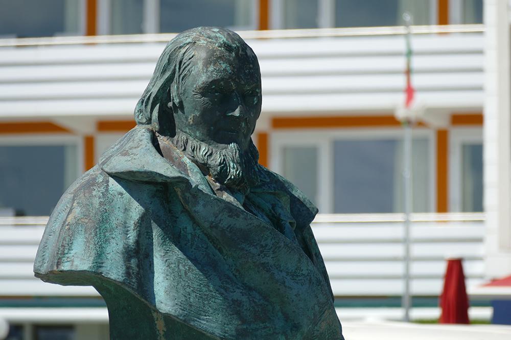 Bust of August Heinrich Hoffmann von Fallersleben