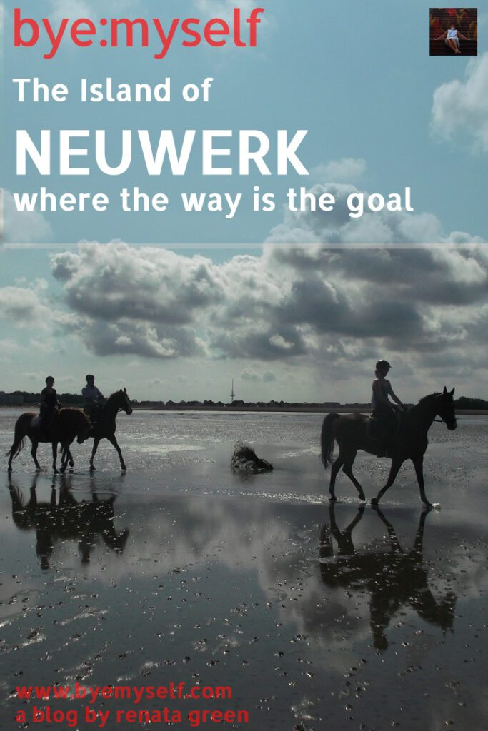 Pinnable Picture for the post on The Island of NEUWERK - where the way is the goal